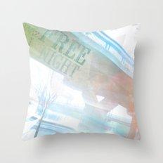 Feel Throw Pillow