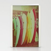 Surfboards in San Francisco Stationery Cards