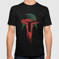 Bounty Hunter Mens Fitted Tee Tri-Black SMALL