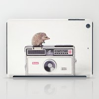 The Hedgehog And The Ins… iPad Case