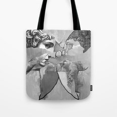 Ghost in the Stone #1 Tote Bag