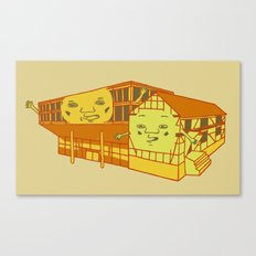 Old school and new school Canvas Print