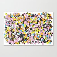 Lots Of Liquorice Allsor… Canvas Print