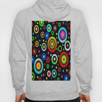 Retro Colorful Dots Hoody