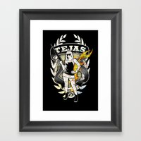 Tejas Framed Art Print
