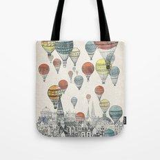Voyages over Edinburgh Tote Bag