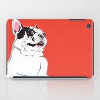 Boston Terrier Side-Eye iPad Case