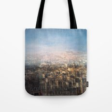 Paris Multiple Exposure  Tote Bag
