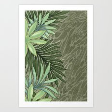 A Run Through the Jungle Art Print