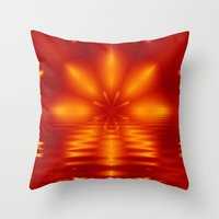Setting Throw Pillow