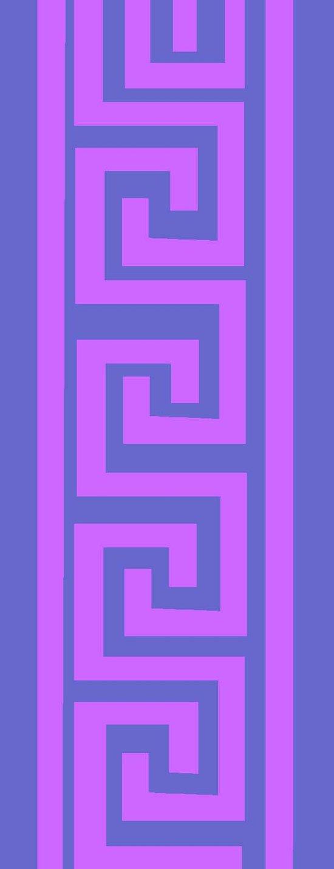 Egyptian Border 3 Art Print