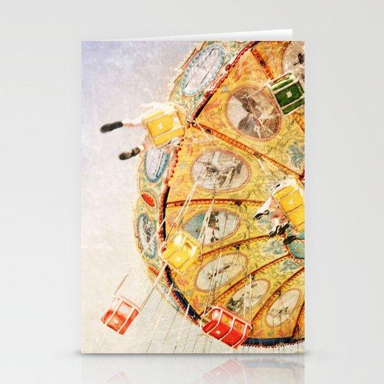 Sea Swings... Stationery Card