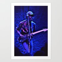 Blood Orange Opens For F… Art Print