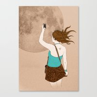 Instagramer Canvas Print