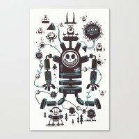 The Magic Garland Canvas Print
