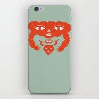 Cloud and Diamond II iPhone & iPod Skin