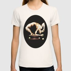 Juggler Womens Fitted Tee Natural SMALL