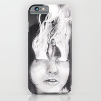 iPhone & iPod Case featuring Smokey Eyes by Caitlion
