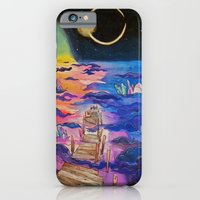 space clouds crystals  iPhone 6 Slim Case