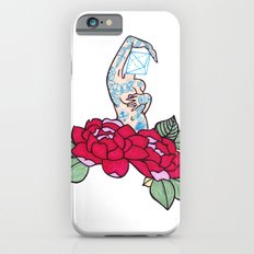 pin-up and roses iPhone 6s Slim Case