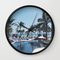 Paradise In Bali Wall Clock