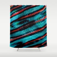 Wave Theory Shower Curtain