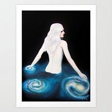 Océano Sideral Art Print