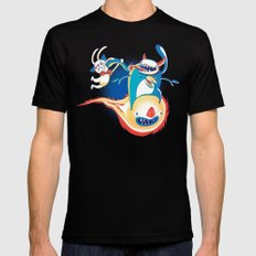 Monsteroid! Mens Fitted Tee Black SMALL