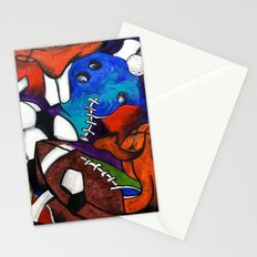 Sports Fans Stationery Cards