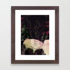 Midsummer night Framed Art Print