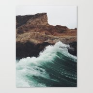 Canvas Print featuring Montaña Wave by Kevin Russ