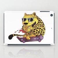 Skating Cheetah iPad Case