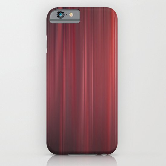 red strings iPhone & iPod Case