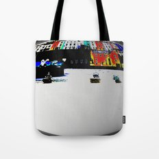 Boats In The Habour Tote Bag