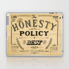 the honesty policy Laptop & iPad Skin