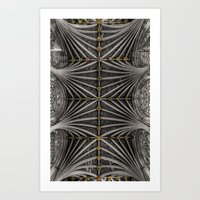Ceiling Bosses Art Print