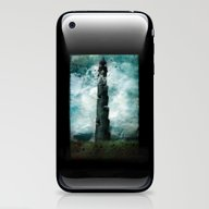 iPhone & iPod Skin featuring The Dark Tower by Sybille Sterk
