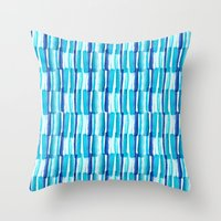 Soothing Seas Throw Pillow