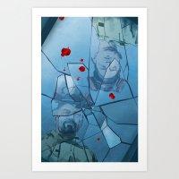 breaking bad Art Prints featuring Breaking Bad by Steven P Hughes
