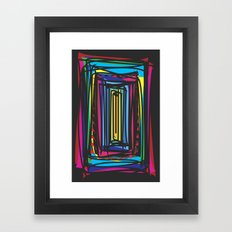 Frames Framed Art Print