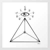 Freemasonry Art Print