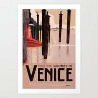 The Vampires of Venice Art Print