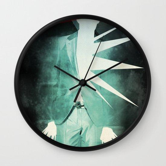light suit Wall Clock