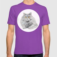 Zelda Mens Fitted Tee Ultraviolet SMALL