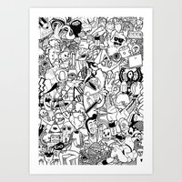 The Arts Art Print