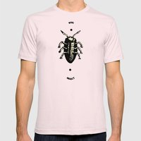 Bug Mens Fitted Tee Light Pink SMALL