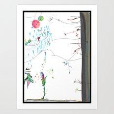 Secret Place Number 552 Art Print