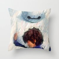 I Can't Loose You Too... Throw Pillow