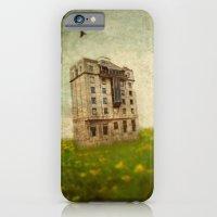 Building in a field iPhone 6 Slim Case