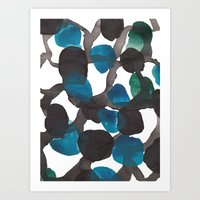 Dots In The Maze Art Print